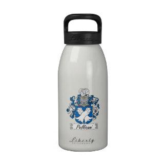 Escudo de la familia de Pellicani Botella De Agua Reutilizable