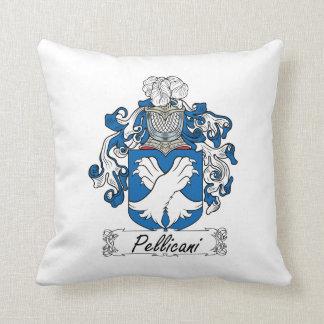 Escudo de la familia de Pellicani Almohadas