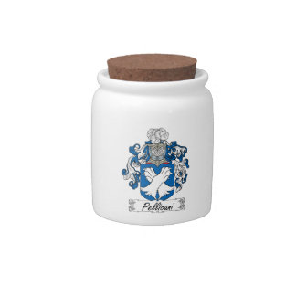 Escudo de la familia de Pellicani Jarra Para Caramelo