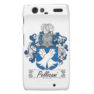 Escudo de la familia de Pellicani Droid RAZR Carcasa