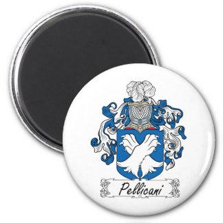 Escudo de la familia de Pellicani Iman Para Frigorífico