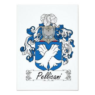 Escudo de la familia de Pellicani Invitaciones Personales