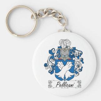 Escudo de la familia de Pellicani Llavero