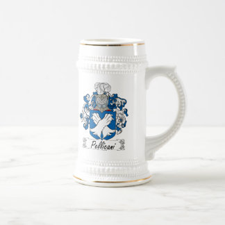 Escudo de la familia de Pellicani Tazas De Café