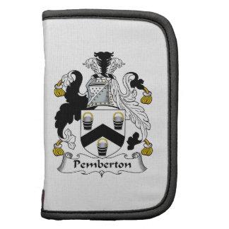 Escudo de la familia de Pemberton Organizador