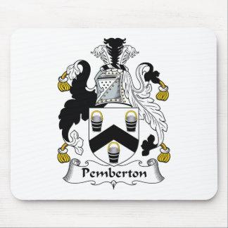 Escudo de la familia de Pemberton Tapete De Ratón