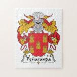 Escudo de la familia de Penaranda Puzzle Con Fotos