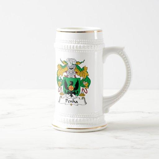 Escudo de la familia de Penha Jarra De Cerveza