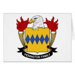 Escudo de la familia de Penington Tarjetas