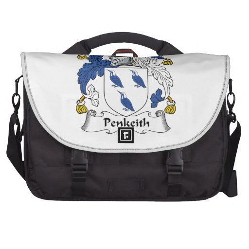 Escudo de la familia de Penkeith Bolsas De Portatil