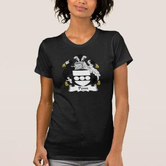 Escudo de la familia de Penn Camisas