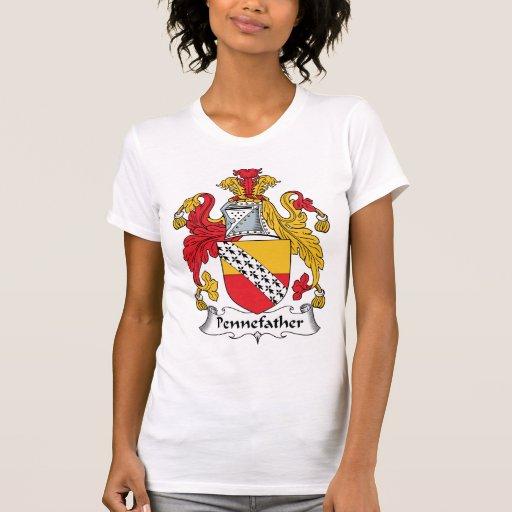 Escudo de la familia de Pennefather Camisetas