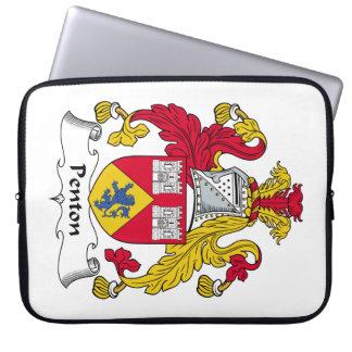 Escudo de la familia de Penton Funda Ordendadores