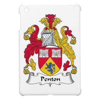 Escudo de la familia de Penton iPad Mini Fundas