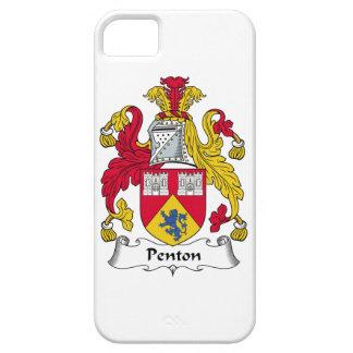 Escudo de la familia de Penton iPhone 5 Cobertura