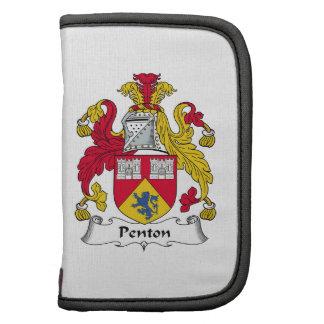 Escudo de la familia de Penton Organizador