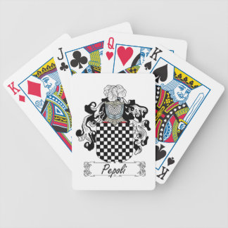 Escudo de la familia de Pepoli Baraja Cartas De Poker