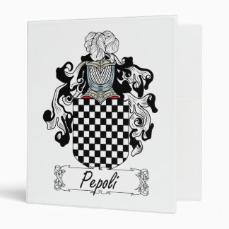 """Escudo de la familia de Pepoli Carpeta 1"""""""