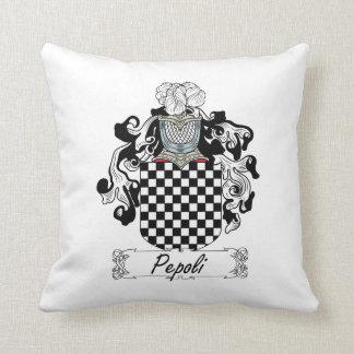 Escudo de la familia de Pepoli Cojines