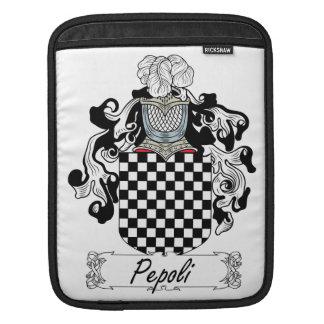 Escudo de la familia de Pepoli Funda Para iPads