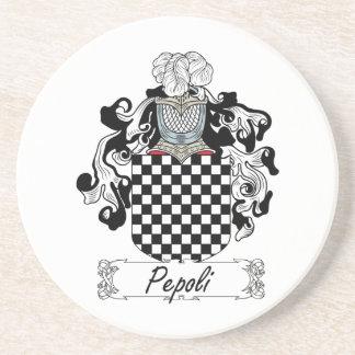 Escudo de la familia de Pepoli Posavasos Diseño