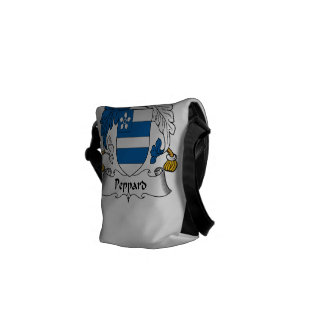 Escudo de la familia de Peppard Bolsa Messenger