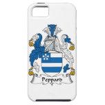 Escudo de la familia de Peppard iPhone 5 Case-Mate Carcasas