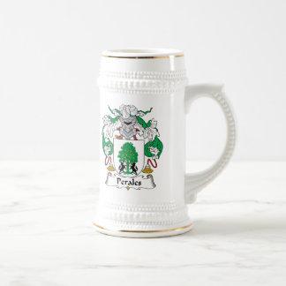 Escudo de la familia de Perales Jarra De Cerveza
