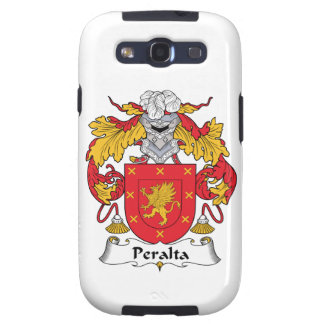 Escudo de la familia de Peralta Galaxy S3 Cárcasas