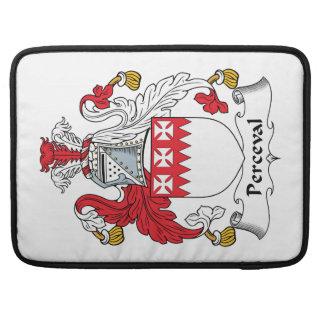 Escudo de la familia de Perceval Funda Para Macbooks