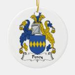 Escudo de la familia de Percy Ornamentos De Reyes Magos