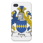 Escudo de la familia de Percy iPhone 4 Carcasas