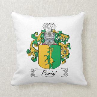 Escudo de la familia de Perini Almohadas