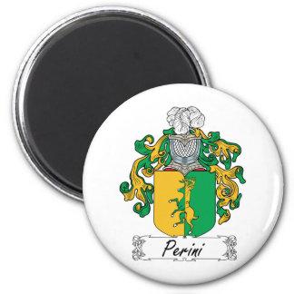 Escudo de la familia de Perini Imán