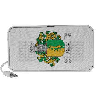 Escudo de la familia de Perini iPod Altavoces
