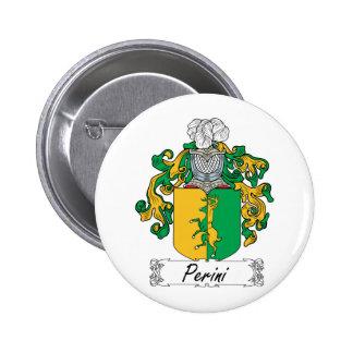 Escudo de la familia de Perini Pin