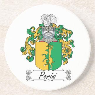 Escudo de la familia de Perini Posavasos Cerveza