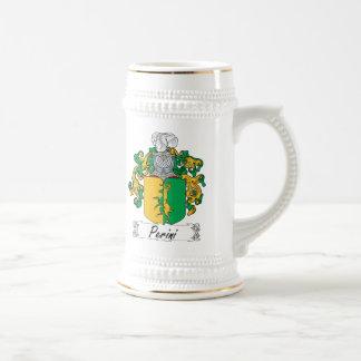 Escudo de la familia de Perini Taza De Café