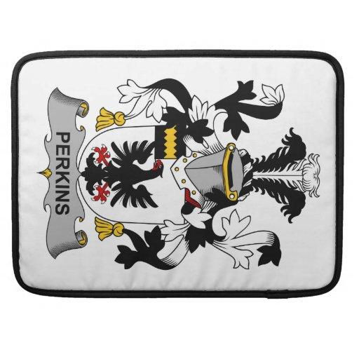 Escudo de la familia de Perkins Funda Para Macbook Pro