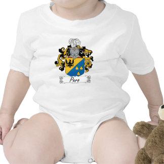 Escudo de la familia de Pero Trajes De Bebé