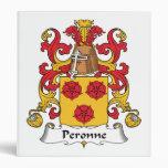 Escudo de la familia de Peronne
