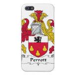 Escudo de la familia de Perrott iPhone 5 Carcasas