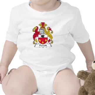 Escudo de la familia de Perrott Traje De Bebé
