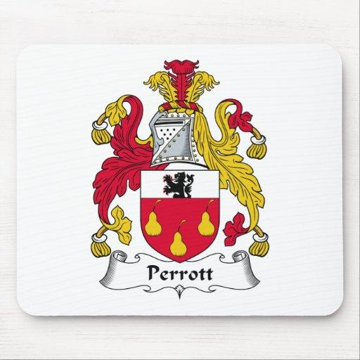 Escudo de la familia de Perrott Alfombrilla De Ratón