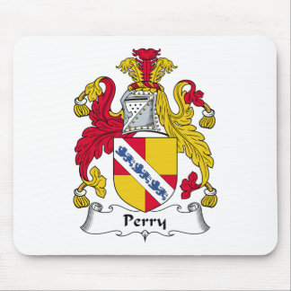 Escudo de la familia de Perry Alfombrilla De Raton
