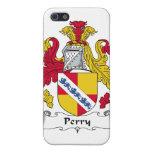 Escudo de la familia de Perry iPhone 5 Funda