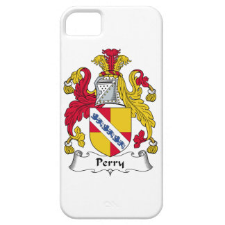 Escudo de la familia de Perry iPhone 5 Fundas
