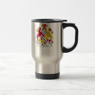 Escudo de la familia de Perry Taza De Café