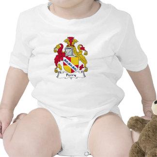 Escudo de la familia de Perry Trajes De Bebé