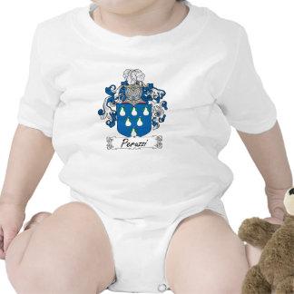 Escudo de la familia de Peruzzi Traje De Bebé